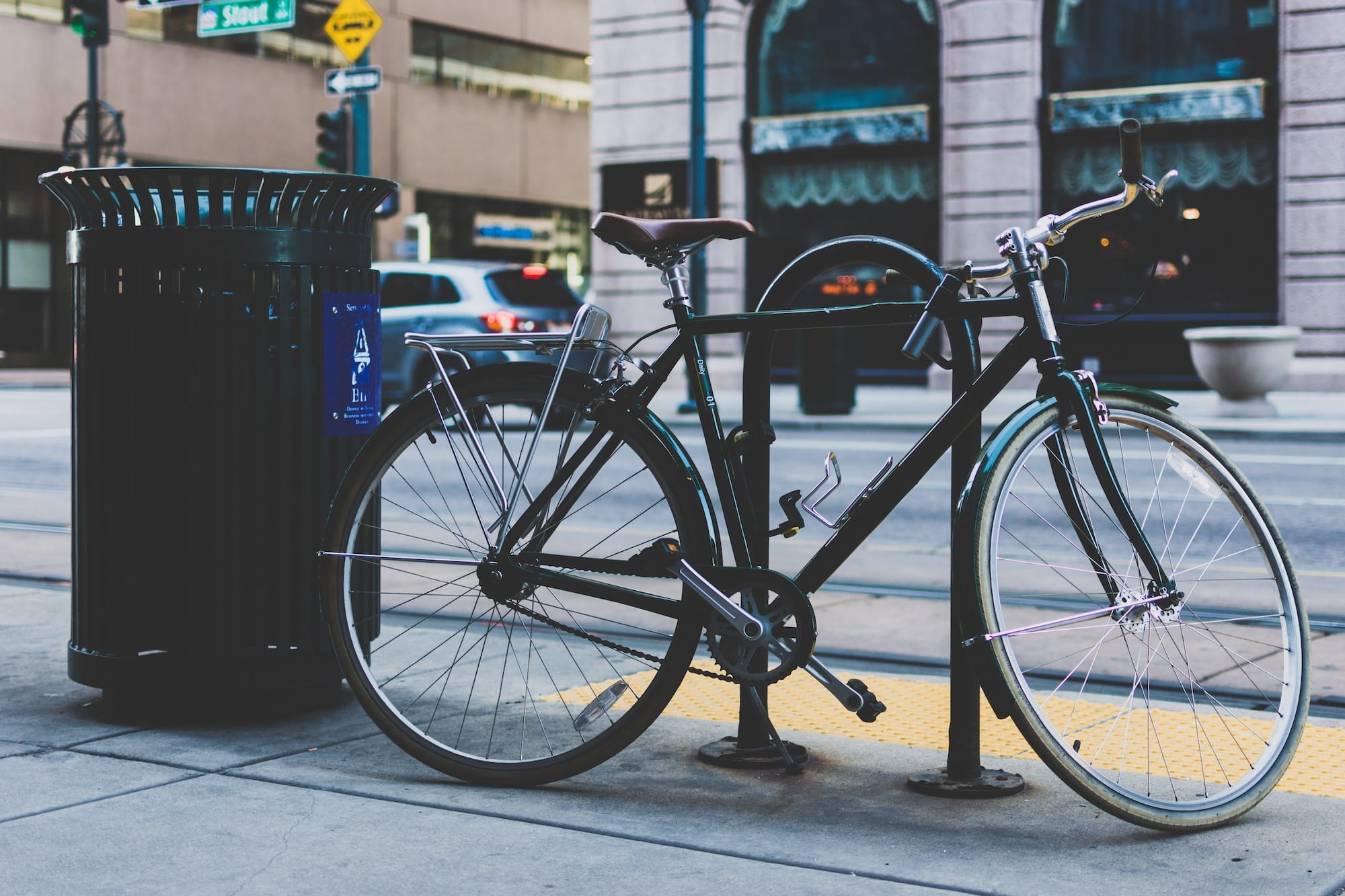make locking your bike a habit