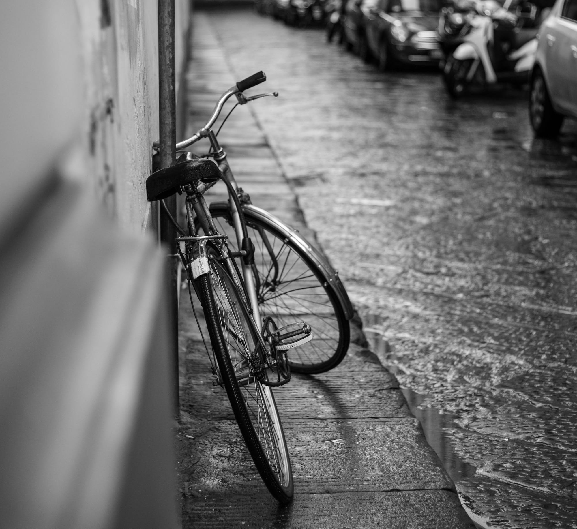 tips for biking in rain