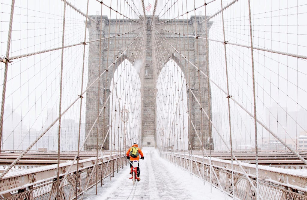 tips for biking in the winter