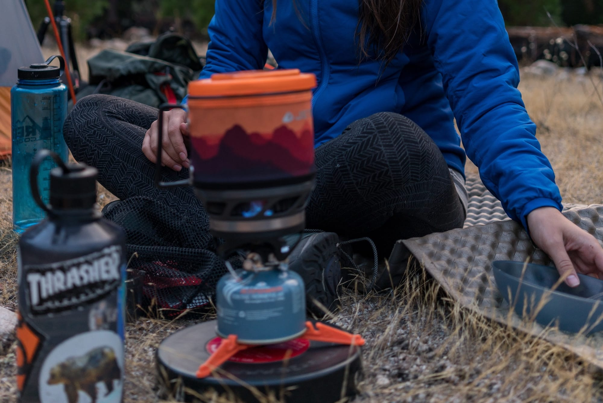 bikepacking meal