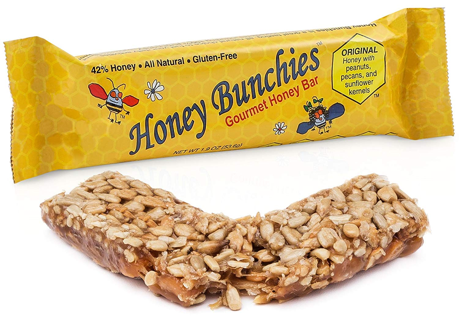 All-Natural Gourmet Honey Bars by Honey Bunchies