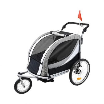 Clevr Deluxe Child Bike Trailer