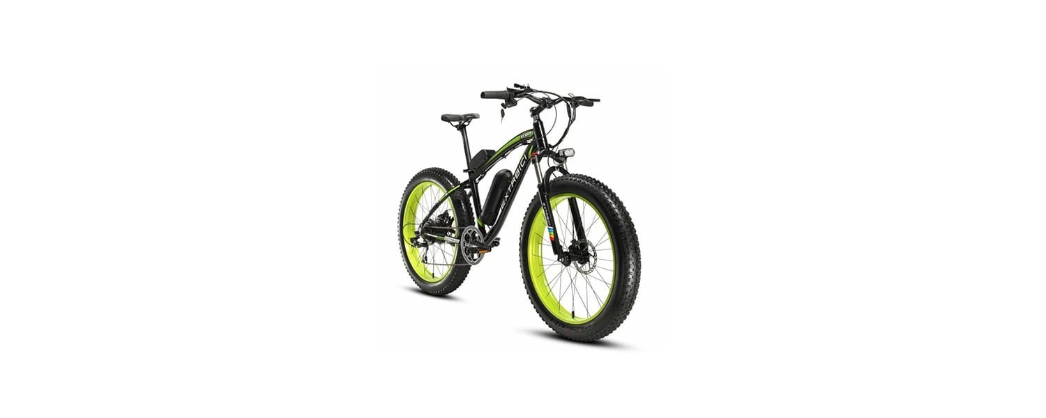 Cyrusher electric mountain bike