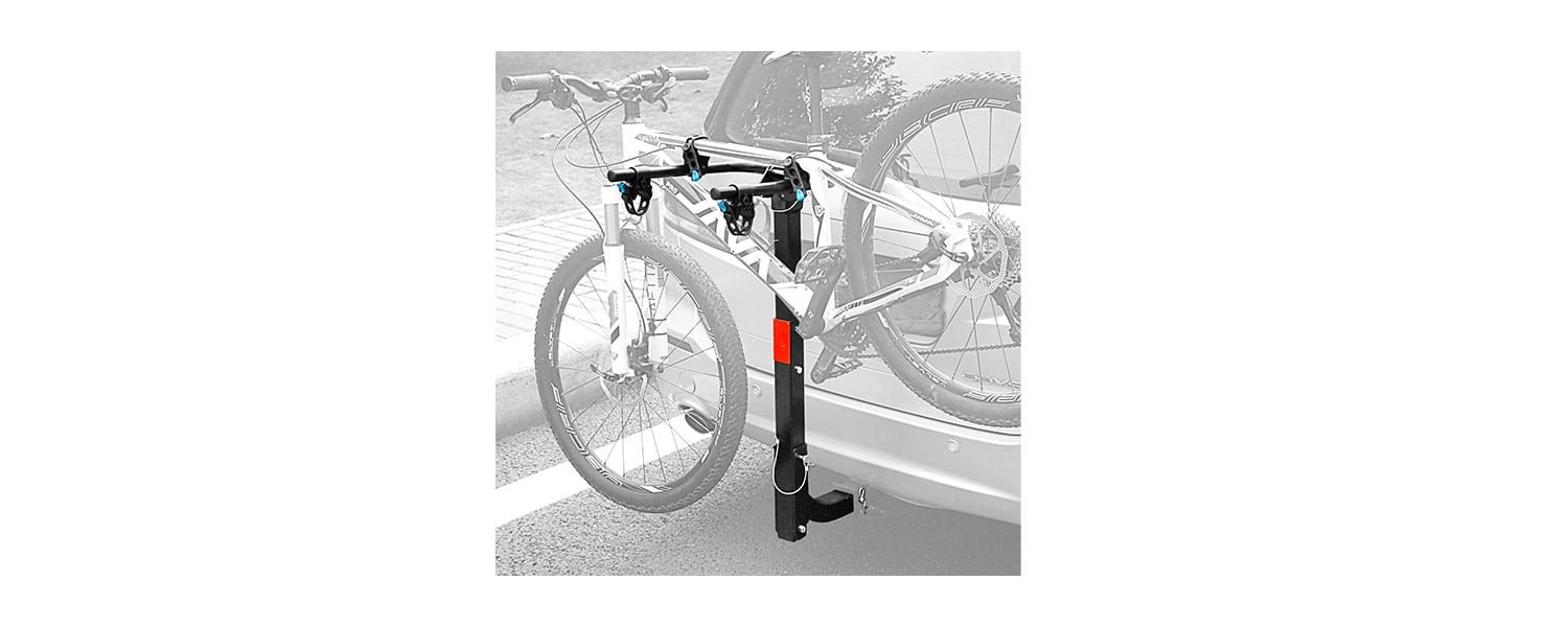 Leader Accessories Hitch Mounted Bike Rack