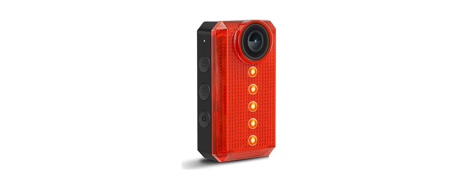 Teentok Cycling Camera with LED Tail Light